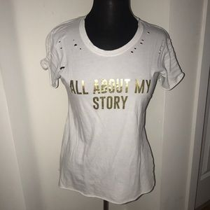 """Project Social T """" All About My Story"""" Tee"""